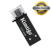 Kimtigo KTH-305 USB 3.0 & OTG 32GB Flash Drive Black