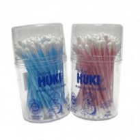 Huki Cotton Buds Pot 100 Stick