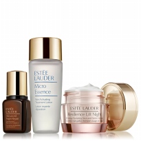Estee Lauder set 01(ANR 7ml+Micro Essence 30ml+Resilience Lift Night Crem 5ml)