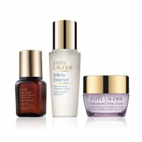 Estee Lauder set 02(ANR 7ml+Micro Essence 15ml+Advanced Time Zone Creme 15ml)