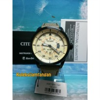 CITIZEN ECO DRIVE AW1365-19P AVIATOR FABRIC STRAP ORIGINAL MURAH