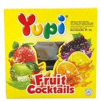 Yupi Gummy Candies Fruit Cocktails 24 gram