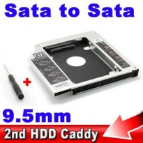 HDD Caddy [2nd HDD Caddy] Universal 9.5mm For Mac