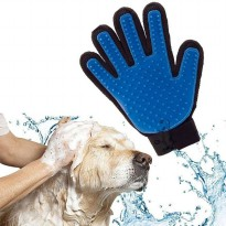 Sarung Tangan Mandi Anjing Kucing Karet Pet Bath Gloves Brush Silikon Silicone
