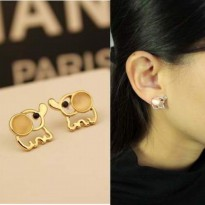 ANTING ANIMAL CUTE / ANTING DIOR / ANTING ELEPHANT / KOREAN EARING / ANTING FOREVER 21