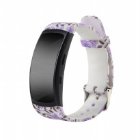 Printed Sport Silicone Band Strap for Samsung Gear Fit 2