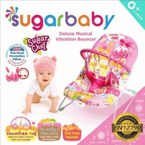 [Murah] Sugar Baby Bouncer - Sugar Chef Pink