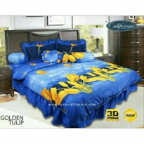 Bed Cover + sprei merk California ukuran 180x200 / sprei bed cover fullset