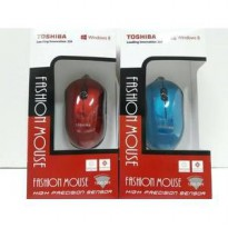 Mouse Fashion Optical USB Kabel Branded TOSHIBA