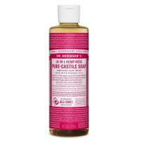 Dr. Bronner's Magic Pure Rose Liquid Castile Soap 237 ml