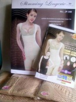 Slimming Suit Natasha Double Infrared / Baju Pelangsing