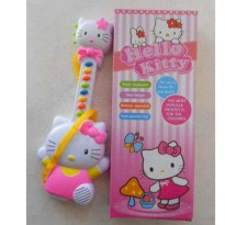 Mainan Anak Gitar Music / Piano HELLO KITTY Pink 1203 TERMURAH