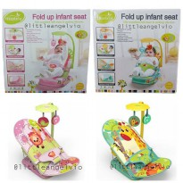 Mastela Fold Up Infant kursi santai bayi