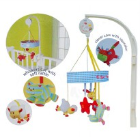 [Recommended] Mainan Bayi Musical Mobile Blossom Farm