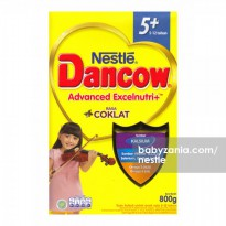 Nestle Dancow Advanced Excelnutri Plus 5-12 Tahun 800gr - Cokelat
