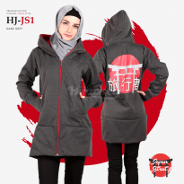 JAKET HIJACKET - PREMIUM FLEECE - HJ-JS1 - Japan Street