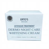 Ertos / Erto's Night Dermo Cream Whitening Pelembab & Pencerah
