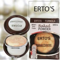 Ertos / erto's baked powder original - bedak ertos bpom