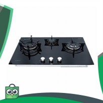 Promo Spesial Kompor Ariston High Power Gas Hob 76cm DD 763 2W1 A BK I
