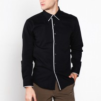 VM Kemeja Casual Slimfit Panjang - Long Shirt Sleeve