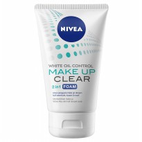 Nivea Make Up Clear 2in1 Oil Control Foam 100g