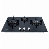 Promo Spesial KOMPOR Ariston High Power Gas Hob 86cm DD 863 2W1/A(BK)I