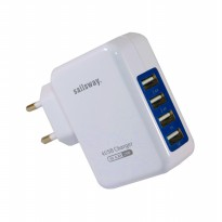Adaptor SAILSWAY 4 USB Quick Charger Batok Charger