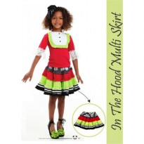 Mudpie In The Hood Multi Skirt #SBFA1347