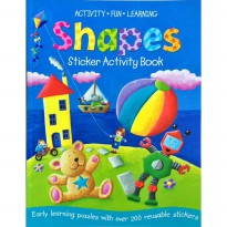 Early Learning Sticker Act : Shapes