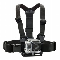 Godric Action Cam Chest Strap for GOPRO, BRICA B-PRO & Xiaomi Yi Camera