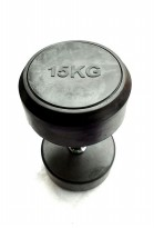 Dumbell Fix Rubber 15kg Body Gym