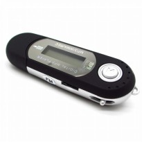 USB MP3 Player LCD Display FM Radio TF Slot Microphone