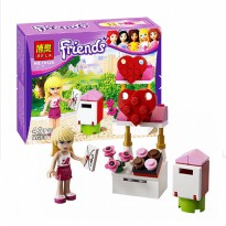 Bela Lego Exclusive Friends Single Character Stephanie Edition