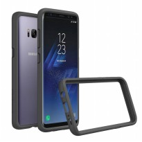 RhinoShield Crash Guard Bumper Case for Galaxy S8 Plus - Grey