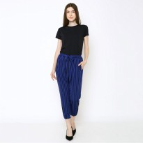 GU Paperbag Vertical Striped Navy