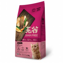 CPPetfood Kitchen Flavor Grain Free Adult Cat Food 1.5 Kg