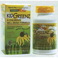 Nature's Plus ANIMAL PARADE KIDGREENZ | Multivitamin anak, ekstrak sayuran