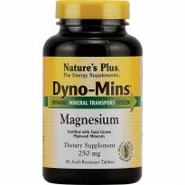 Nature's Plus DYNOMINS MAGNESIUM 250 MG | Vitamin, mineral