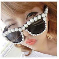 kacamata fashion mutiara sunglasses pearl trendy sunglasses jgl024