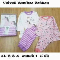 Velvet Junior - Piyama Bamboo Cotton Mix & Match