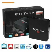 Android TV BOX MXQ-Pro 4K Smart TV Box new model