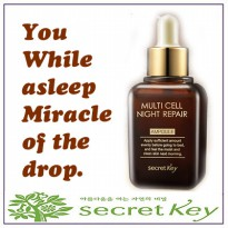 Secret Key Multi Cell Night Repair AMPOULE 50ML multicel
