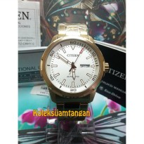 JAM TANGAN PRIA CITIZEN NH8373-88A GOLD ORIGINAL MURAH