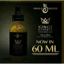 Liquid Vape Kings Reserve Premium Blend Legend By Emkay Brewer Nutty
