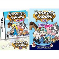 BUKU PANDUAN BAHASA INDONESIA HARVEST MOON DS DAN DS CUTE (2 IN 1)