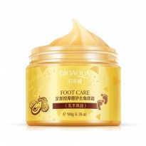 Bioaqua Foot Care Yellow Massage Scrub Cream Krim scrub pijat kaki kun