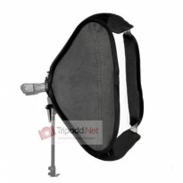 Softbox 60 x 60 cm for Flash tipe2 with Bracket and Bag