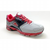 Eagle Sepatu Type Supersonic Grey Red Black