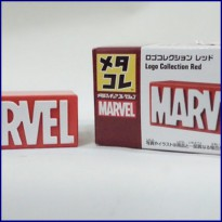 Takara Tomy Tomica Metal Collection Marvel Logo Collection Red