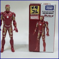 Takara Tomy Tomica Metal Collection Iron Man Mark 43 Marvel
